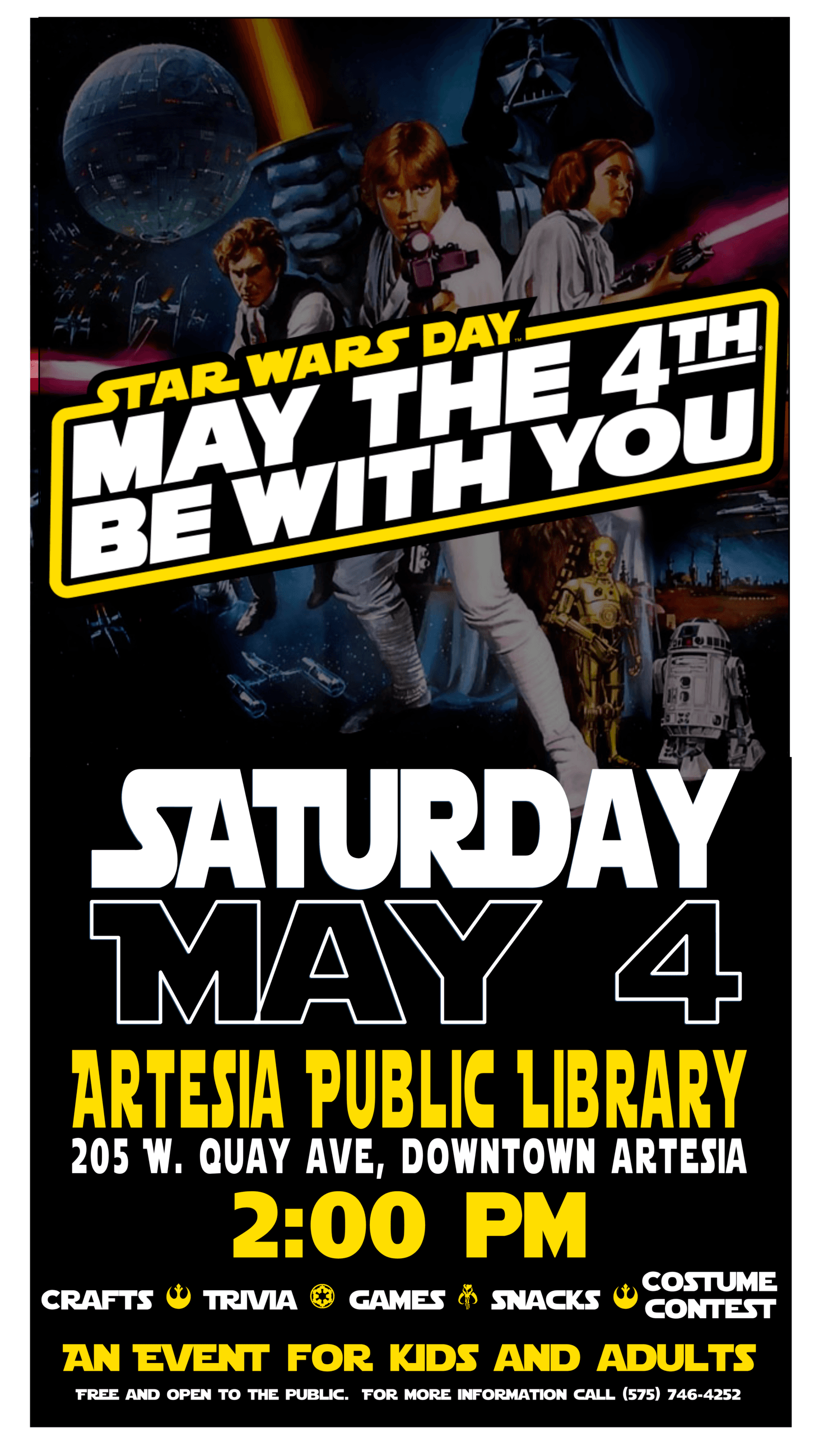 Star Wars Day 2019 tabloid