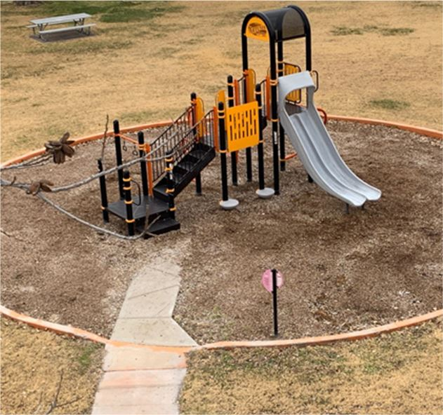 Jamaic Park playground equipment