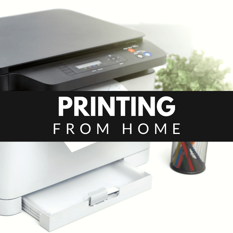 Printing From Home